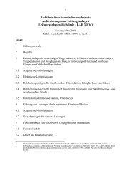 Richtlinie über brandschutztechnische ... - MBWSV NRW
