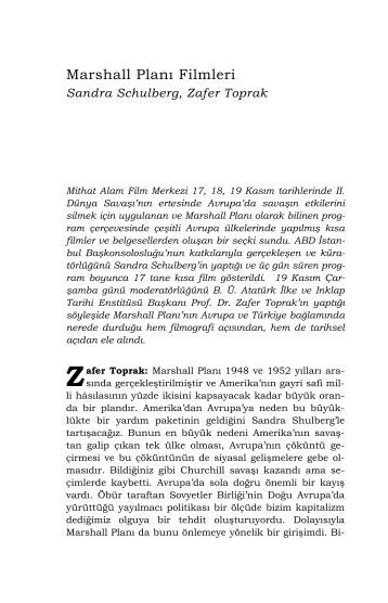Marshall Planı Filmleri - Mithat Alam Film Merkezi - Boğaziçi ...
