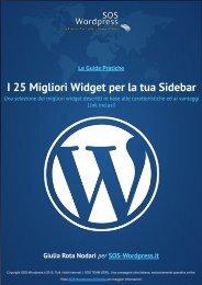 25 Migliori Widget per la tua Sidebar - Amazon Web Services