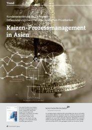 Kaizen-Prozessmanagement in Asien - solutionproviders