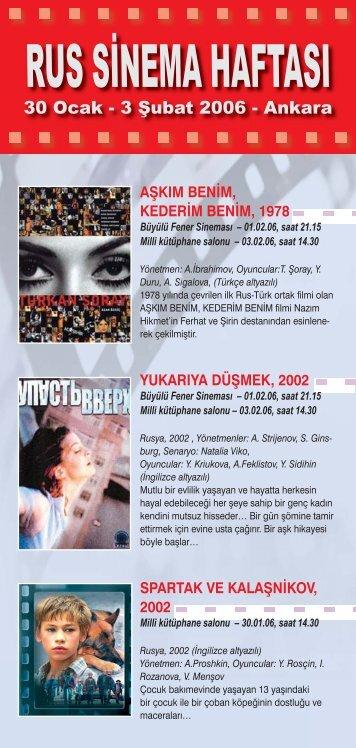 rus sinema haftası