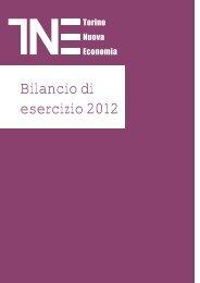 Bilancio 2012.pdf - Torino Nuova Economia