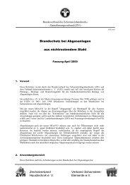 Haustechnik e. V. Elemente eV Brandschutz bei ... - VSE
