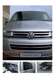Volkswagen Transporter Kombi SPort