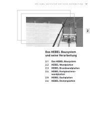2 Das HEBEL Bausystem und seine Verarbeitung