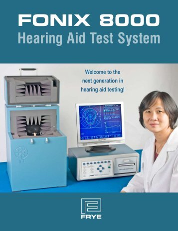 FONIX 8000 Hearing Aid Test System