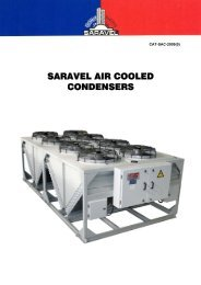 Air Cooled Condensers - Saravel