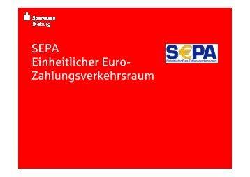 SEPA-Lastschriften - Sparkasse Dieburg