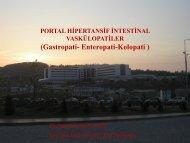 PORTAL HİPERTANSİF VASKÜLOPATİLER (Gastropati-Enteropati ...