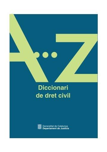 Diccionari de dret civil