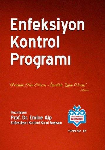 Enfeksiyon Kontrol Programı Kitabı - Erciyes Üniversitesi Tıp ...