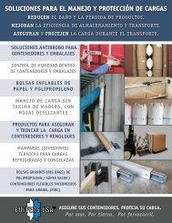soluciones para el manejo y protección de cargas - Buffers USA