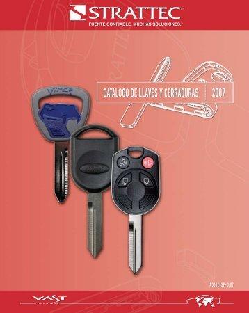 catalogo de llaves y cerraduras 2007 - STRATTEC Security