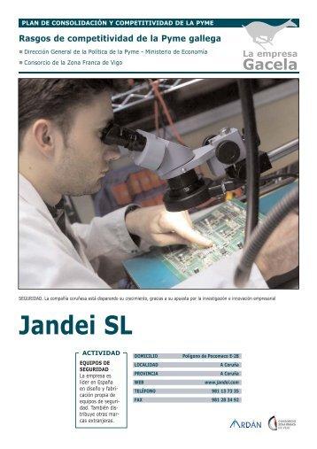 Reportaje: JANDEI, S.L.: Empresa Gacela - Ardan