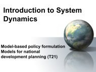 Introduction to System Dynamics - Cepal