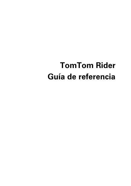 tomtom rider handbuch download