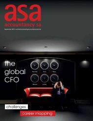 the global CFO - Accountancy SA