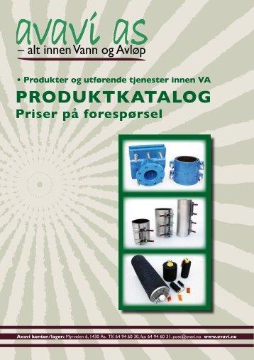 Vår produktkatalog 2011 - Avavi As