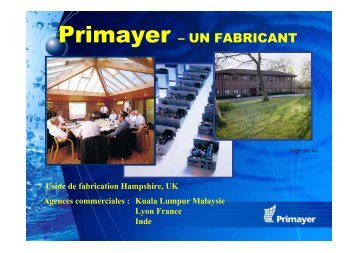 Primayer – UN FABRICANT - Ascomade