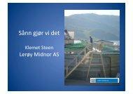 Lerøy Midnor - FHL