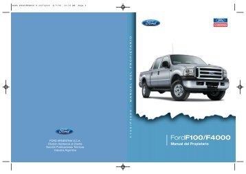 Manual Ford F-4000 - Guspamar