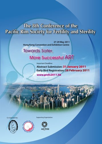 The 8th Conference of the Pacific Rim Society for Fertility and Sterility