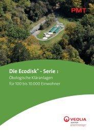 Die Ecodisk® - Serie von PMT