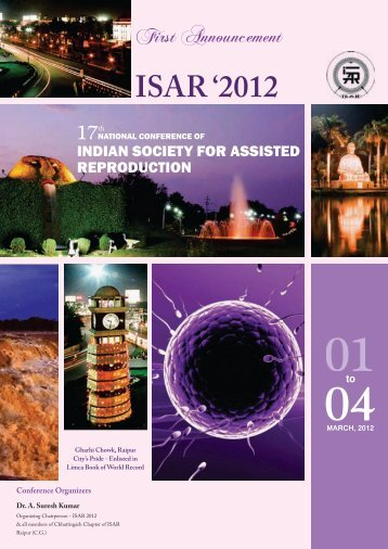 ISAR BROCHURE 2012 - Indian Society For Assisted Reproduction