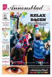 Kiruna Annonsblad vecka 38, torsdag 20 september 2012 sidan 1
