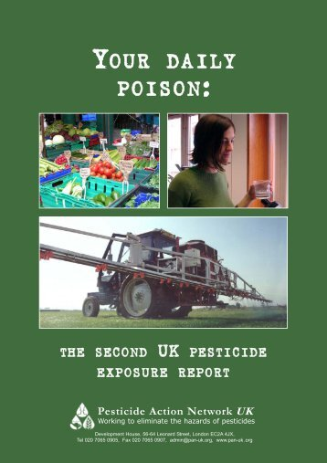 Your Daily Poison - Pesticide Action Network UK