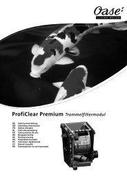 ProfiClear Premium Trommelfiltermodul - Oase Teichbau