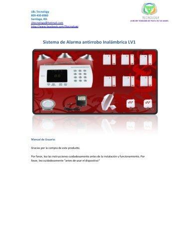 Sistema de Alarma antirrobo ma de Alarma antirrobo Inalámbrica ...