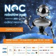 Zaproszenie na Noc Robotów