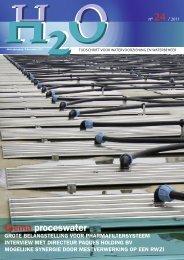 thema proceswater - H2O - Tijdschrift voor watervoorziening en ...