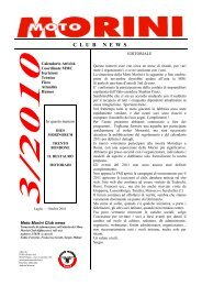 notiziario 3-2010.pub - MOTO MORINI CLUB ROMA