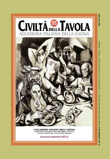 Gennaio 2013 - Accademia Italiana della Cucina
