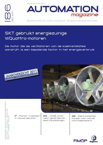 SKT gebruikt energiezuinige WQuattro-motoren - Fimop