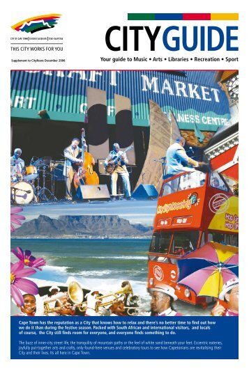 to view/download Dec 2006 edition of CityGuide - City of Cape Town