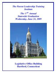 The Parent Leadership Training Institute The 17 Annual Statewide ...