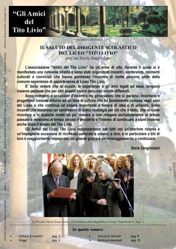 Numero 2 - Gli Amici del Tito Livio