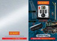 R8213 Select English Instruction Manual - Hornby