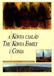A KÓNYA CSALÁD THE KONYA FAMILY LCONLÍ - MEK