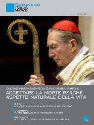 Scarica il notiziario di Ottobre 2012 - Parkinson Italia