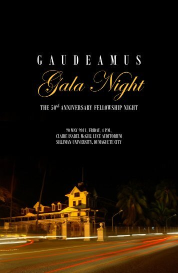 Gala Night Program.p65 - Silliman University