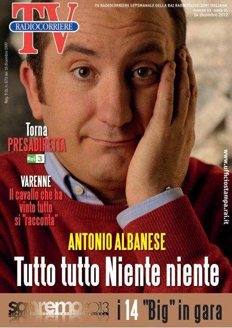 Scarica PDF - Ufficio Stampa Rai - Rai it