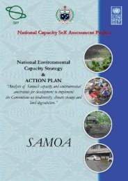 Action Plan - Global Environment Facility