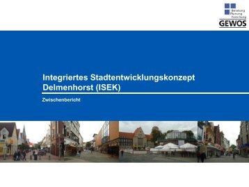 Integriertes Stadtentwicklungskonzept Delmenhorst ... - Deniz Kurku