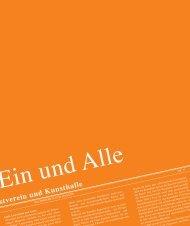 Kunstverein und Kunsthalle - kunsthalle fridericianum kassel