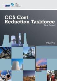 CCS Cost Reduction Taskforce