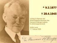 Folien eines Vortrags über Hermann Föttinger am 17.2 ... - TU Berlin